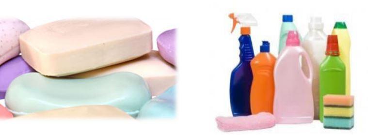Sapunët dhe detergjentët
