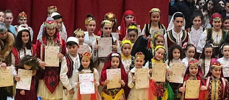 Festivali i IV i Ansambleve te këngeve, valleve e lojërave popullore organizuar nga QKF Durres.